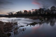 River Shannon at Castleconnell 13-1-2017 2 (John Holmes (DAJH51)) Tags: castleconnell nikon1635wa nikond750 clouds ireland longexposure river rivershannon sky steppingstones sunset
