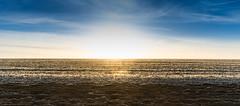 Morning horizon (Rookipix) Tags: guillaume lucas rookipix france creative photography d5300 nikon nikkor me my feelings reflections ideas photographie créative moi mes émotions réflexions idées horizon blue sky morning ground mud cloud sun