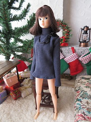 King Under the Mountain fit on Momoko Turtleneck Top (KoTori Couture) Tags: momoko doll clothes fit dollclothes dollcouture ko kotori madetomeasure