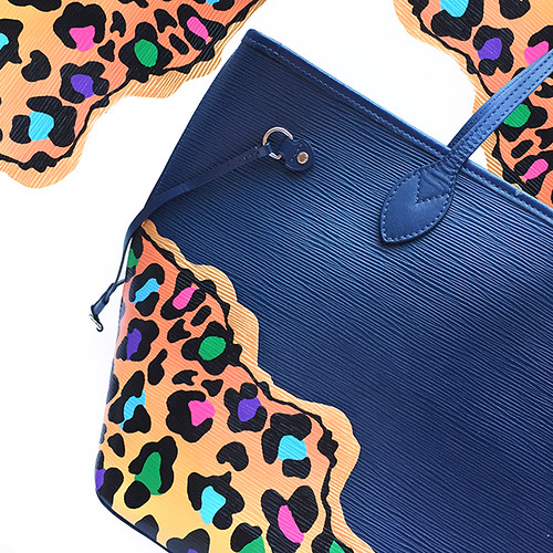 Leopard Louis Vuitton epi leather-2a montage