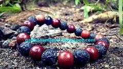 Bracelet (Galih Kayu Bertuah) Tags: bracelet handmade craft handycraft wood art creative woodworking jewelry stone mountain