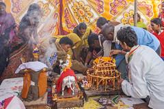 Gaura-Gauri Pooja ceremony (wietsej) Tags: gauragauri pooja ceremony kawardha chhattisgarh india sonyalphadslra900 a900 sonyvariosonnart1635mmf28za sal1635z zeiss 1615 rural village wietsejongsma