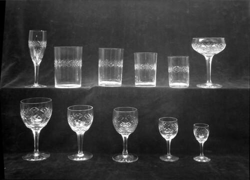 Objectos em vidro. Portugal