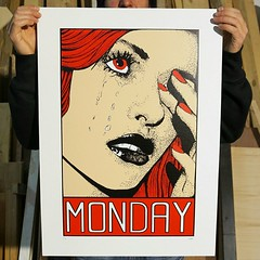 Happy Monday!  few copies still available on Etsy  www.silkscreendepartment.etsy.com   #monday #mondaymood #tears #happy #silkscreen #poster #posterart #screenprintart #screenprint #sketch #popart #redhair #red #drawing #illustration #graphic #graphicart (Silkscreen Department) Tags: artcollective illustration signed ink sketch graphic happymonday paper artprint mondaymood happy silkscreen art screenprint limitededition etsy monday print pencil screenprintart redhair popart graphicart wallpaper moodoftheday drawing red poster tears posterart