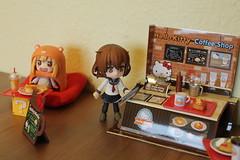New coffee Shop!!! (Ninotpetrificat) Tags: cupoche nendoroid nendo kotobukiya ikaduchi umaruchan umaru sailor cafeteria coffeeshop goodsmilecompany rement comidadejuguete toys japantoys