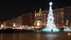 Night in Kraków (2) (Krzysztof D.) Tags: shiftn night noc nacht kraków polska poland polen małopolska małopolskie zima winter centrum rynek marketsquare marketplace