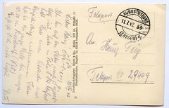 . (Kaïopai°) Tags: postkarte postcard feldpost stenno stenografie stenographie ipa steno