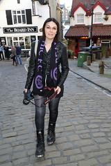IMG_03145258_1987 (PeeBee (Baxter Photography)) Tags: nov new uk november england music leather festival rock october punk boots weekend alt yorkshire gothic oct goth catriona event jacket whitby alternative cate 2014 wgw newrocks
