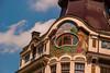 Riquet & Co (Smiley Man with a Hat) Tags: building architecture germany deutschland spring saxony leipzig sachsen architektur altstadt gebäude frühling 2014 riquet reichsstrase riquetco schuhmachergäschen
