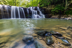 Force- June 27, 2015 (zachary.locks) Tags: park summer green wet water creek rocks force angle state low brush falls clear wv westvirginia waterfalls princeton flowing cascade beckley forceful cy365 zlocks