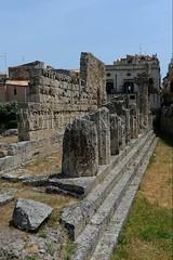 40078303 (wolfgangkaehler) Tags: italy greek temple italian europe european unescoworldheritagesite syracuse sicily archeologicalpark ortygia sicilian greekruins templeofapollo sicilyitaly