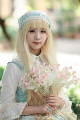 FOX26463-Edit (FoxSchumacher) Tags: china portrait people girl canon lolita kunming ef85mmf12lusm 1dmarkiv 樁姬