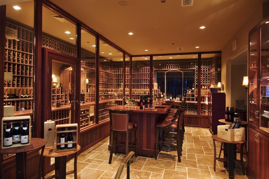 Ritz-Carlton Half Moon Bay wine cellar