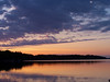 Serene (J Swanstrom (Never enough time...)) Tags: sunset lake photography j evening kodak dx7590 cloudscape pickerel swanstrom