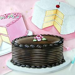 cake, cake, cake (holiday_jenny) Tags: art sign cake vintage coconut handmade chocolate retro decor plaques