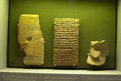 Items from the Library at Nineveh (plingthepenguin) Tags: cuneiform akkadian