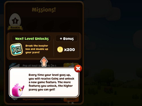 Mobile games Missions: screenshots, UI