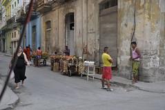 Puestos en la Habana Vieja