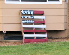 Happy 4th of July!!! (Eyellgeteven) Tags: wood house holiday home rural stars diy wooden paint fireworks handmade flag rustic decoration lawn americanflag patriotic flags homemade american fourthofjuly americana pallet 4thofjuly independenceday redwhiteandblue oldglory americanholiday eyellgeteven 742015