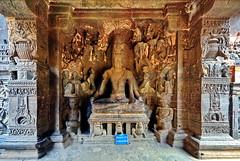 India - Maharashtra - Ellora Caves - Kailasa Temple - 80 (asienman) Tags: india maharashtra elloracaves dravidianarchitecture 8thcenturyad asienmanphotography mahabharataepos thekeilasa