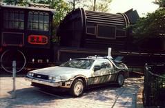 Back To The Future! (hobbitbrain) Tags: bttf timetravel delorean dmc backtothefuture martymcfly 88mph docbrown