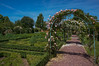 Parc Floral William Farcy (GardenTraveller) Tags: park france green floral rose gardens garden french topiary arch path jardin william climbing arbor hedge normandie archway normandy parc boxwood offranville farcy