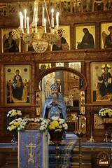 45. The early liturgy in Pokrovsy church / Ранняя литургия в Покровском храме