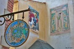 Vende (85) (Masse W.) Tags: france village retro panneaux vende affiches publicits