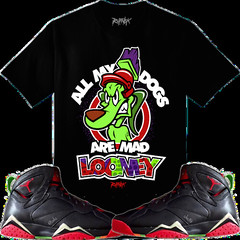 ddfce4afe95545 Marvin the Martian 7s Shirt (XGEAR101) Tags  original shirt outfit clothing  7 sneakers