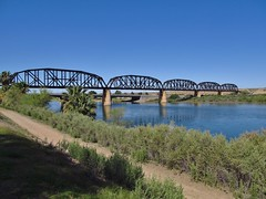 Parker, Arizona (Jasperdo) Tags: bridge arizona river landscape scenery roadtrip coloradoriver railroadbridge parker arizonacaliforniarailroad