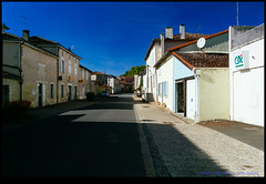 161022-1080-XM1.jpg (hopeless128) Tags: france sky eurotrip 2016 shadows buildings street champagnemouton nouvelleaquitaine fr