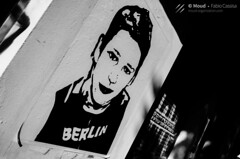 Berlin Boy. (RevolutionaryMood) Tags: berlin street germany trip red bridge ponte rosso muro di berlino wall vintage stickers people lifestyle