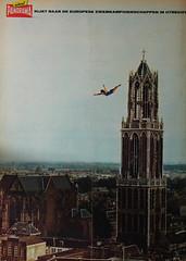 1966 Panorama (Steenvoorde Leen - 2.5 ml views) Tags: 1966 panorama weekblad 53ejaargang utrecht domtoren zweefduik