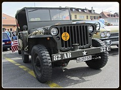 Willys MB, 1944 (v8dub) Tags: willys mb 1944 jeep 4x4 geländewagen army armée military militaire militär schweiz suisse switzerland fribourg freiburg american pkw voiture car wagen worldcars auto automobile automotive old oldtimer oldcar klassik classic collector