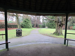 Saturday, 7th, Underneath the thatch IMG_1631 (tomylees) Tags: braintree essex thatch bandstand project january 2017 7th saturday public gardens