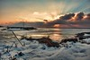 (Jolynn's Photography) Tags: winter ice snow sunrise clouds landscape nature