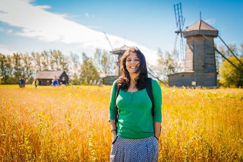 Priya at Suzdal