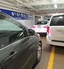 return to Vancouver, on the ferry.. some strange parking job.. (iwona_kellie) Tags: gibsons britishcolumbia canada chris conor visit friends persephonebrewingcompany beer food january 2017