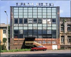 Będzin Grodziec, Poland. (wojszyca) Tags: mamiya rz67 6x7 120 mediumformat 75mm shift kodak ektachrome e100g epson v800 gossen lunaprosbc industrial decay abandoned coalmine soloparking