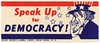 Speak Up for Democracy! (Alan Mays) Tags: ephemera posterstamps cinderellastamps stamps labels paper printed speakup speaking shouting democracy democratic patriotic stars stripes unclesam men hats beards hands borders illustrations red white blue 1940s antique old vintage typefaces type typography fonts everreadylabelcorp everreadylabel publishers printers newyorkcity ny newyork