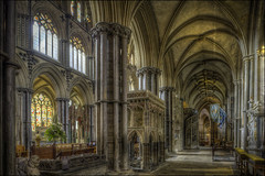 Ely Cathedral 5 (Darwinsgift) Tags: ely cathederal interior hdr pce nikkor 24mm f35 tilt shift nikon d810 photomatix architecture church cathedral