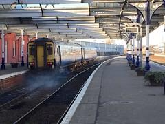 Kilmarnock- 21-01-2017 (agcthoms) Tags: scotland ayrshire kilmarnock station railways trains scotrail class156 156439