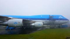 Boeing 747-206BM c/n 21549 KLM registration PH-BUK (sirgunho) Tags: lelystad aviodrome aviation museum airport dda stichting fokker preserved aircraft aeroplane luchtvaart boeing 747206bm cn 21549 klm registration phbuk 747
