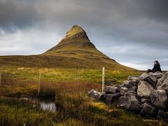 The Snæfellsnes Peninsula (Feldore) Tags: snaefellsnes peninsula iceland landscape icelandic mountain woman sitting dramatic feldore mchugh em1 olympus 1240mm rocks