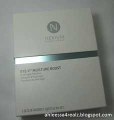 Nerium Eye-V Moisture Boost Hydrogel Patches (AhleessaCh) Tags: nerium eyevmoistureboosthydrogelpatches eyemask