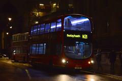 Go Ahead London Central (NX) WVL405 (LX11CWK) on Route N21 (hassaanhc) Tags: wvl wright wrightbus goaheadlondon goaheadgroup goahead