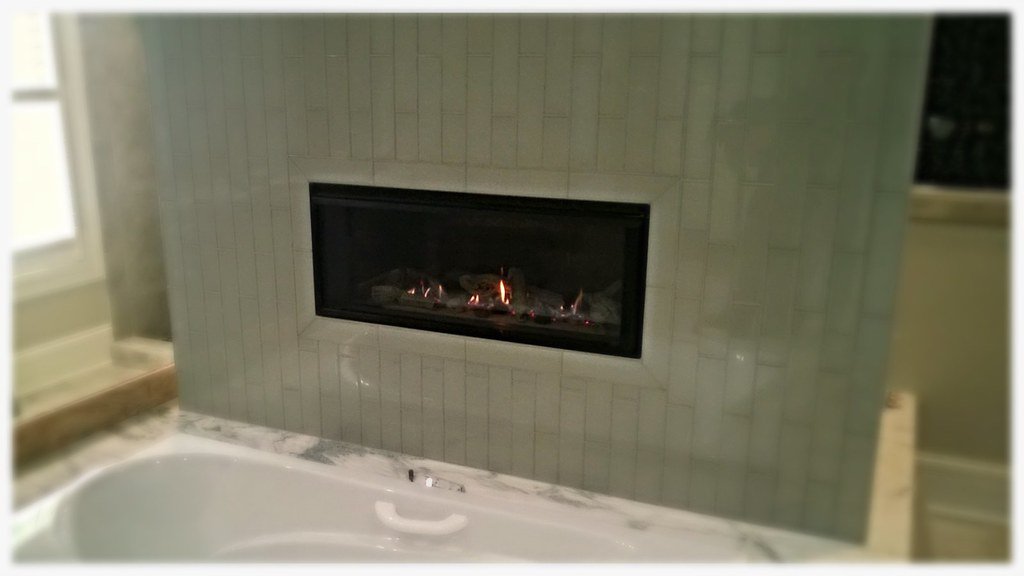 Valor L1 Linear Direct Vent Fireplace. Cleveland, Tn.