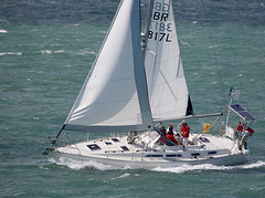 Yacht (Bernie Condon) Tags: water boats boat sailing wind yacht solent sail yachts southampton yachting