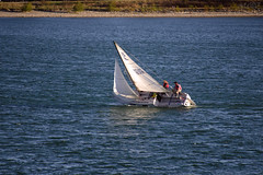 feel the breeze on your face (~ Mariana ~) Tags: lake canada calgary nikon ab mariana sailingclub glenmorereservoir simplysuperb travelsofhomerodyssey outstandingromanianphotographers marculescueugendreamsoflightportal