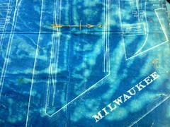 Blueprint. (Teddsterpinx) Tags: city history map planning milwaukee blueprint document ward overview fifth mke iphoneography teddsterpinx